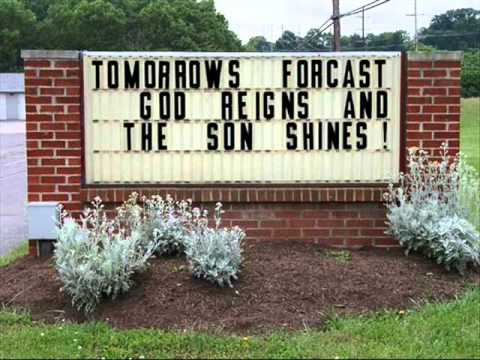 Funny Church Signs The Daily Bible Verse App